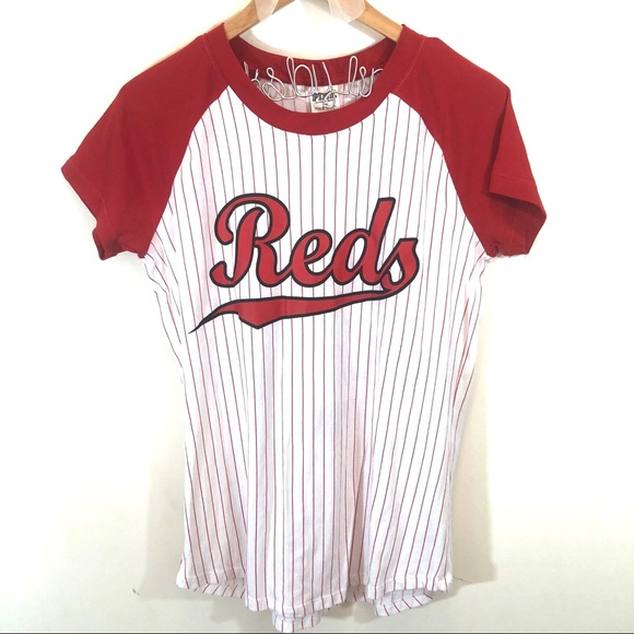 d3114bd83b8fd Victoria's Secret PINK Cincinnati Reds Baseball T
